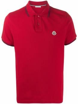 Moncler рубашка-поло с логотипом 8A7060084556