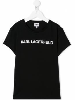 Karl Lagerfeld Kids футболка с логотипом Z1522209B