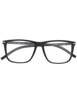 Dior Eyewear очки в прямоугольной оправе с логотипом BLACKTIE269