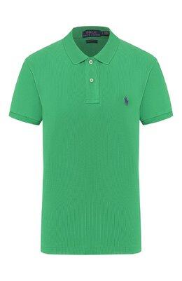 Хлопковое поло Polo Ralph Lauren 211506471