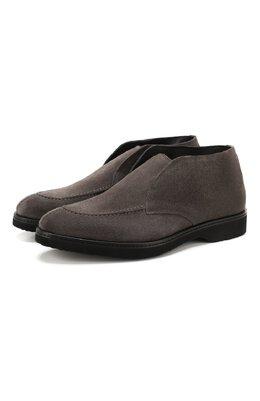 Замшевые ботинки Doucal's DU2503CALVUM009NN03