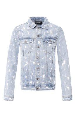 Джинсовая куртка Dom Rebel DRIBBLE/JEAN JACKET