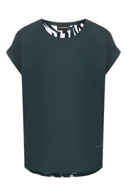 Хлопковая футболка Emporio Armani 6G2T7L/2J16Z