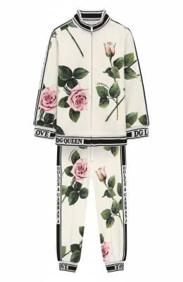 Комплект из толстовки и брюк Dolce&Gabbana L2JY15/FSGR7