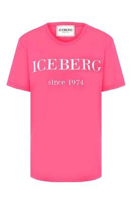 Хлопковая футболка Iceberg 20E I2P0/F09A/6331