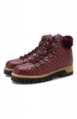 Кожаные ботинки Le Silla 7512M040M1MMCHI