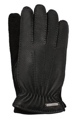 Кожаные перчатки Corneliani 84Q304-9820585/00