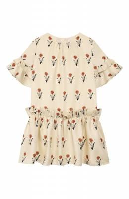 Шелковое платье Oscar De La Renta 20SGN613PSX