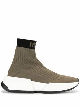 Mm6 Maison Margiela высокие кроссовки-носки S59WS0093P3120