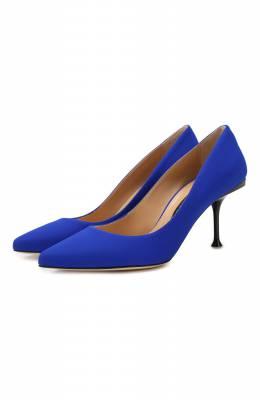 Текстильные туфли Sergio Rossi A81750-MTE134