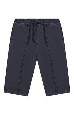 Хлопковые брюки на кулиске Dolce&Gabbana L12P88/LY033