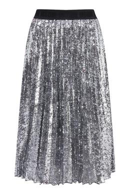 Плиссированная юбка с пайетками MSGM 296185627