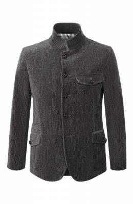 Хлопковый пиджак Giorgio Armani 8WG0C00X/T0062