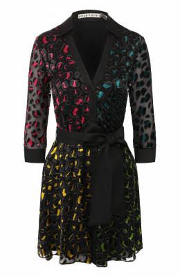Платье с поясом Alice + Olivia CC908B62539