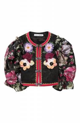 Укороченный жакет Dolce&Gabbana L52E02/G7SLI/8-14