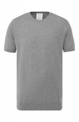 Хлопковая футболка Brioni UMR00L/P8K34