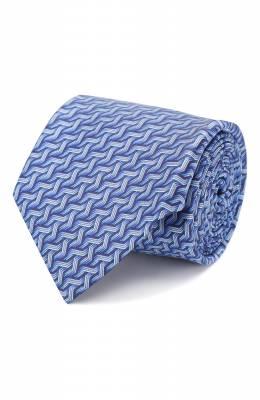 Шелковый галстук Zilli 50541/TIES