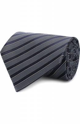 Шелковый галстук с узором Ermenegildo Zegna Z4E18/1XW