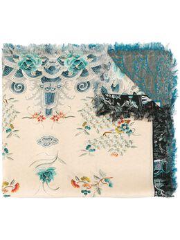 Pierre-louis Mascia шарф с цветочным принтом ALOEUWSW135X195S449272