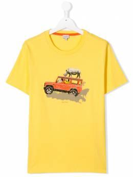 Paul Smith Junior футболка с принтом 5Q10752724