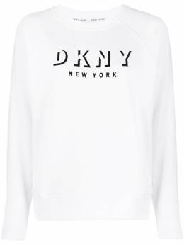 DKNY толстовка свободного кроя с логотипом DP9T7096