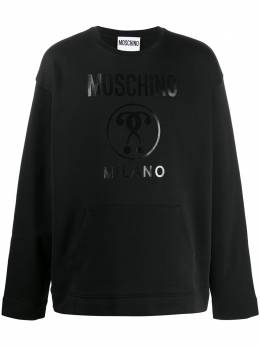 Moschino толстовка Double Question Mark A17222027