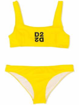 Dsquared2 Kids бикини с принтом D2 DQ040WD000V