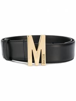 Moschino ремень с пряжкой-логотипом A80148006