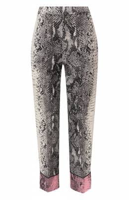 Шелковые брюки No. 21 20E N2M0/B063/5530