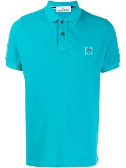 Stone Island рубашка-поло с логотипом MO721522S67