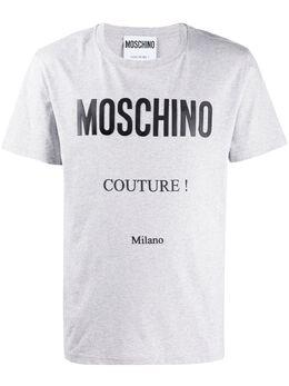 Moschino футболка с логотипом A07072040