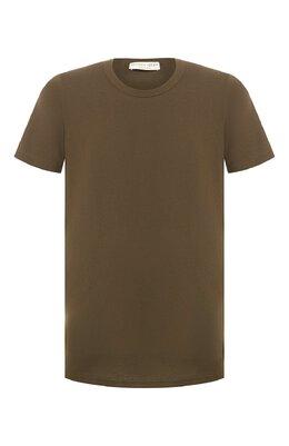 Хлопковая футболка Bottega Veneta 600852/VF2A0