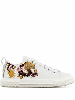 Giuseppe Zanotti Design Blabber dragon embroidery sneakers RS00005001