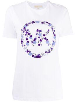 MICHAEL Michael Kors футболка с логотипом MS05MGC97J