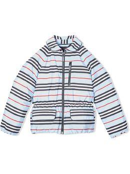 Burberry Kids куртка в полоску Icon Stripe 8022154