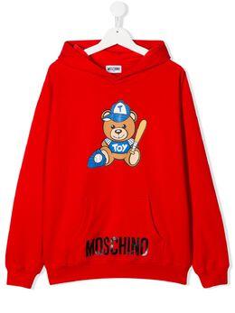 Moschino Kids худи с принтом Teddy Bear HUF03ELDA13