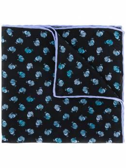 Lanvin галстук с графичным принтом 29181