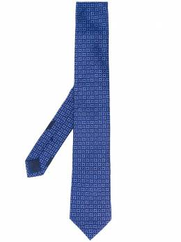 Salvatore Ferragamo жаккардовый галстук с узором Gancini 722961