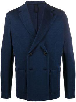Harris Wharf London приталенный пиджак Rice Stitch C6P41PGE
