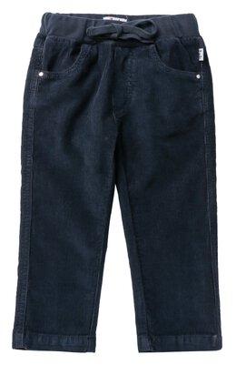 Хлопковые брюки прямого кроя с эластичным поясом Il Gufo A17PL035V6005/3M-9M