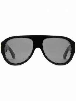 Gucci Eyewear солнцезащитные очки-авиаторы 610377J0740