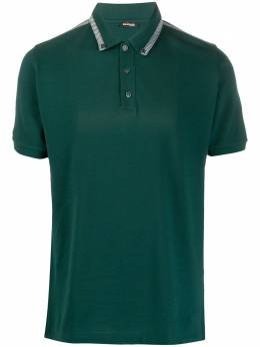 Kiton рубашка-поло с воротником на пуговицах UK637PE15
