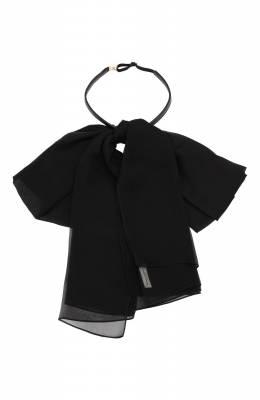 Шелковый галстук Saint Laurent 321746/3100Y