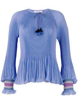 10 Crosby Derek Lam блузка Helena TR02705SG
