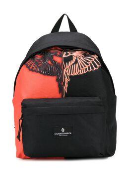 Marcelo Burlon Kids Of Milan двухцветный рюкзак с принтом 95019000