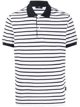 Fay полосатая рубашка-поло NPMB2401550ROT903P