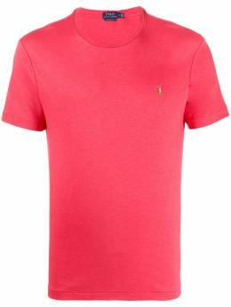 Polo Ralph Lauren футболка с круглым вырезом и вышитым логотипом 710740727
