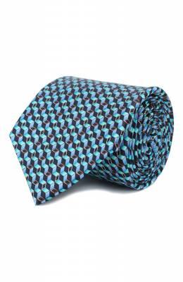 Шелковый галстук Zilli 50242/TIES