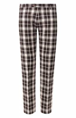 Хлопковые брюки Andrea Campagna ZIP/1 WHITE/SB1520