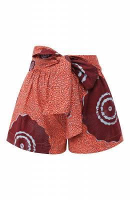 Хлопковые шорты Ulla Johnson PS200405